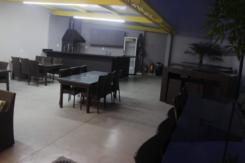 Espaço de convivência do The Escape Game, casa de jogos de fuga localizada na Vila Mariana, em São Paulo